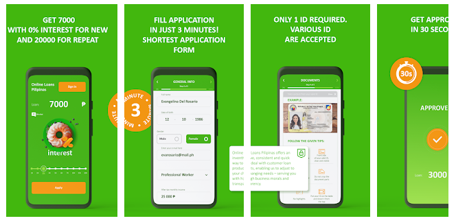 0% interest online fast peso cash loan app for the Philippines
