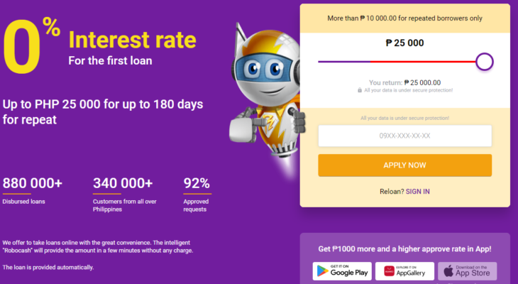Instant Online Loans Robocash